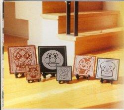 画像1: アンパンマンキャラクター絵タイル10×10×1cm